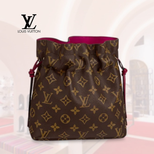 21SS 新作 ルイヴィトン ポッシュ・ノエ モノグラム ポーチ 茶 (Louis Vuitton/雑貨・その他) M43445