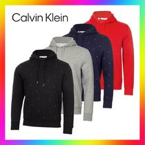 Calvin Klein Golf Planet Monogram Performance フーディー長袖