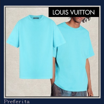 【LOUIS VUITTON】Tシャツ ヴィンテージ風 ユニセックス ラベル (Louis Vuitton/Tシャツ・カットソー) 1A7QGO