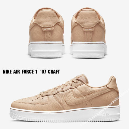 NIKE★AIR FORCE 1 '07 CRAFT★VACHETTA TAN