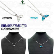 ★DELIXIR★BTS JUNGKOOK 着用 Whale Tail Necklace