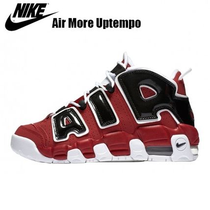 NIKE★大人気!大人もOK!Air More Uptempo★モアテン レッド