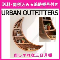 【URBAN OUTFITTERS】ウッド☆Crescent Moon☆シェルフ 三日月