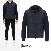 HERNO / ULTRALIGHT HOODED BOMBER