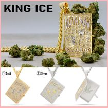 King Ice(キングアイス) ネックレス・ペンダント 【DEATH ROW x KING ICE】LA SKELETON CANNABIS BIBLE NECKLACE
