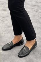 ★CHANEL★★ROUND TOE LOAFERS