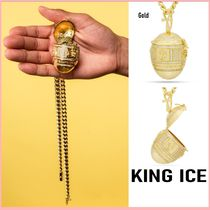 King Ice(キングアイス) ネックレス・ペンダント 送税込【King Ice】GOLDEN STASH EGG OF THE PHARAOH NECKLACE♪