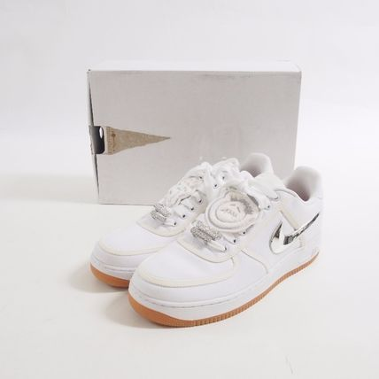 Nike スニーカー Nike::Air Force 1 Low Travis Scott:US10.5[RESALE]