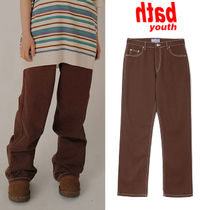 ★YOUTHBATH★送料込み★韓国★正規品★人気 COTTON WIDE PANTS