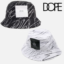 DOPE(ドープ) ハット [DOPE] CONCENTRIC SQUARE バケットハット [公式]