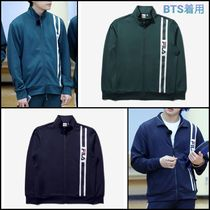 BTS着用【FILA】POINT DETAIL TRACK TOP(全2色)★トレーナー