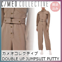 ★C/MEO COLLECTIVE★DOUBLE UP JUMPSUIT PUTTY★関送込