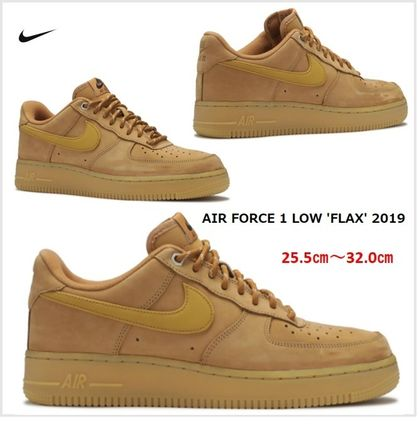 【NIKE】 AIR FORCE 1 LOW 'FLAX' 2019★エアフォース 1