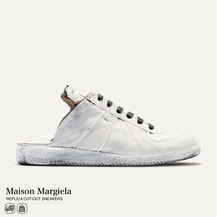 Maison Margiela - REPLICA CUT-OUT SNEAKERS 関税送料無料