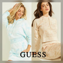 【GUESS】Eco Marble Hoodie★運動にも最適!LOGOあり