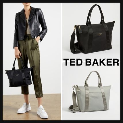 TED BAKER☆NANCCIE 使いやすい ナイロン 2WAY トートバッグ