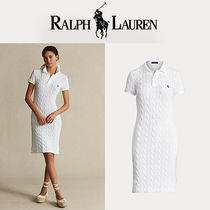 [Polo Ralph Lauren] ワンピース Cable-Knit Polo Dress