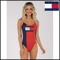 【Tommy Hilfiger】Core One Piece Swimsuit ワンピース 水着