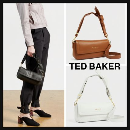 TED BAKER☆SINITAA ロゴ Soft knotted  ショルダーバッグ
