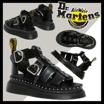 【Dr.Martens】 ★送料込み★ Mackaye Black Buttero sandals