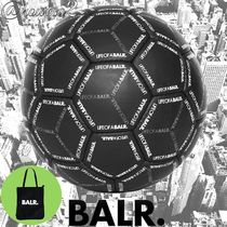 【BALR.】HEXAGON AOP FOOTBALL BLACK