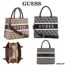 GUESS◆ロゴ ミニトートバッグ◆Monique Mini Tote