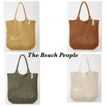 The Beach People(ビーチピープル) トートバッグ 【The Beach People ビーチピープル】マクラメトートバッグ