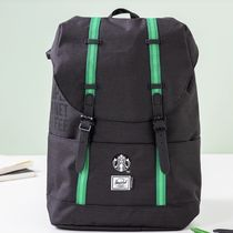 【韓国スタバ】21 Herschel green backpack