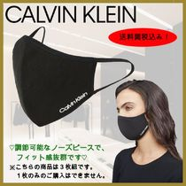 【Calvin Klein】Logo Stretch 3-Pack Face Mask マスク 送関込