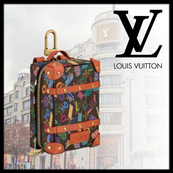 FW21 新作【ルイヴィトン】MINI BACKPACK TRUNK BAG CHARM (Louis Vuitton/雑貨・その他) MP3017