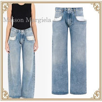Maison Margiela☆ Straight Jeans with Contrasting Pockets