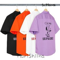 SUPREME Dog S/S Work Shirt SS21 Week9