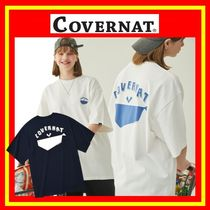 COVERNAT(コボナッ) Tシャツ・カットソー [COVERNAT] Paper Whale T-Shirts/2色/男女兼用/追跡付