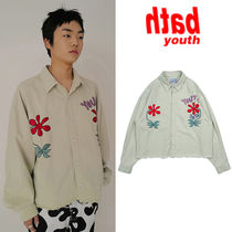 ★YOUTHBATH★送料込み★正規品★韓国★OVER-FIT SHORT SHIRTS