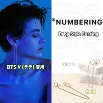 ★NUMBERING★ BTS V 着用 Drop Style Earring ピアス