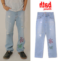 ★YOUTHBATH★送料込み★韓国★人気★TWINKLE BEAR DENIM PANTS