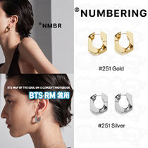 ★NUMBERING★ BTS RM 着用 251 Earring ピアス