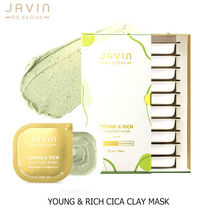 JAVIN DE SEOUL■YOUNG & RICH CICA CLAY MASK シカクレイマスク