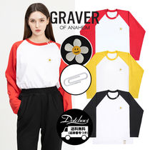 GRAVER FLOWER EMBROIDERY WHITE CLIP LONG SLEEVE HM845 追跡付