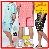 ★【acme'delavie】★ADLV X SIMPSONS★BART SWIM SHORT PANT.S