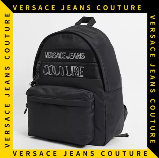 【Versace Jeans Couture】ロゴ シンプル バックパック (VERSACE/バックパック・リュック) 67950156