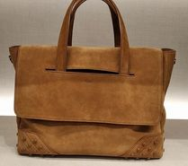 TOD'S(トッズ) ビジネスバッグ・アタッシュケース VIPセール60%オフ【TODS XBMGGTY1200GRNS005 SUEDE BAG】