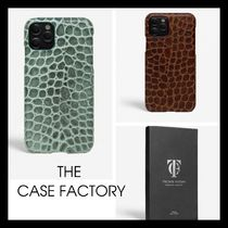 【 THE CASE FACTORY】 IPHONE 12 / 12 PRO MAX クロコダイル