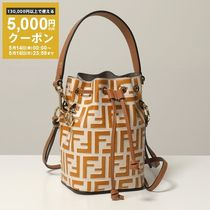 FENDI 巾着バッグ 8BS010 ADYE Mini MonTresor