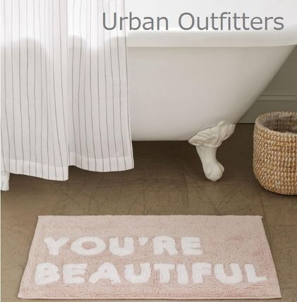 日本未入荷★Urban Outfitters You're Beautiful バスマット