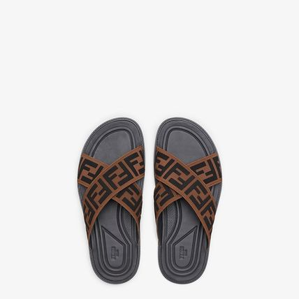 FENDISHOESFF SANBAL7X1222A63TF1425BROWN