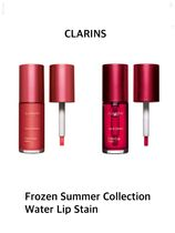〈CLARINS〉★2021SS★ FrozenSummerCollection Water Lip Stain