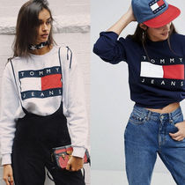 SALE! Tommy Jeans フラッグ ロゴ スウェット トレーナー 8色