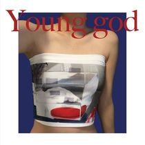 【DYDOSHOP】Young god (Reorder) Printed Tube top