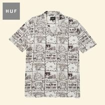 HUF × 420 DAY IN THE LIFE アートワーク 半袖シャツ